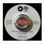 "45Re✦MARVIN GAYE✦""This Love Starved Heart Of Mine / When I Feel The Need"".Hear ♫"